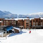 Revelstoke hiihtokeskus kylä