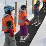 Revelstoke lapset hiihtohissi taikamatto laskettelu
