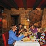 Sainte Foy ravintola after ski