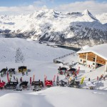 St. Moritz hiihtokeskus hiihtoalue