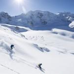 St. Moritz offarit puuteri off-pisteet