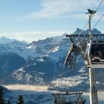 Villars Gryon Leys gondolihissi hiihtohissi hiihtokeskus