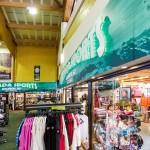 Alpe d'Huez ala-asema ostoskeskus