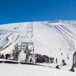 Les 2 Alpes jäätikkö hiihtoalue