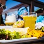 Les 2 Alpes rinneravintola ruoka le Pano
