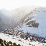Les deux Alpes alppikylä laakso