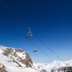 Les 2 Alpes jäätikkö tuolihissi