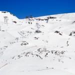 Les 2 Alpes hiihtoalue yläosa