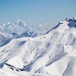 Les 2 Alpes jäätikko maisemat