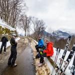 Les 2 Alpes offari päätepiste miehet
