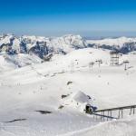 Les deux Alpes jäätikko alaosa
