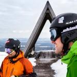 Luosto hiihtokeskus laskijat
