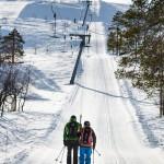 Luosto tunturi hiihtokeskus hissit