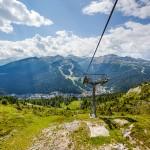 Madonna di Campiglio summer slopes
