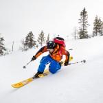 Olos hiihtokeskus rinne telemark