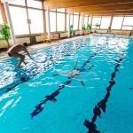 Olos hiihtokeskus uimahalli hyppy