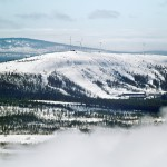 Olos Lapland resort slopes