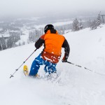 Olos Lapland skier slopes