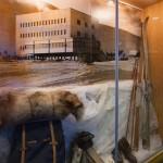 Pallas hotelli historia vitriini