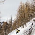 Sestriere Italia offpiste skiing
