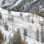 Sestriere Italia off piste routes