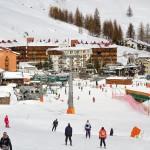 Sestriere Italia hiihtokeskus Borgata