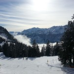 Garmisch partenkirchen laskettelukeskus hiihtokeskus rinteet alpit