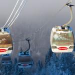 Mont Tremblant hiihtokeskus laskettelukeskus hiihtohissi gondolihissi