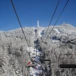 Mont Tremblant hiihtokeskus laskettelukeskus hiihtohissi tuolihissi