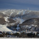 Mont Tremblant hiihtokylä laskettelukeskus hiihtokeskus maisema