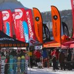 Mont Tremblant välinetesti lumilautailu laskettelu hiihtokeskus