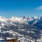 Peguieou rinneravintola after ski laskettelu 2400m