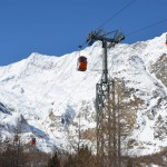 Saas Fee hiihtohissi gondolihissi hiihtokeskus laskettelukeskus