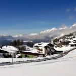 Seefeld hiihtokeskus laskettelukeskus kylä kaupunki alppikylä