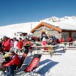 Sierre-anniviers after ski terassi
