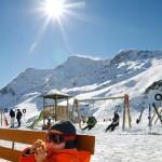Sierre-anniviers leikkikenttä after ski rinneravintola lapset
