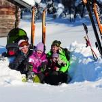 Vemdalen perhe lapset laskettelu