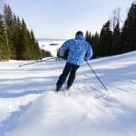 Koli hiihtokeskus Ipatti laskettelu