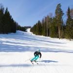Koli hiihtokeskus Ipatti laskettelurinne