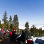 Koli hiihtokeskus hotelli maisematerassi