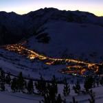 Les 2 Alpes village-valley