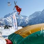 Les 2 Alpes big-air-bag