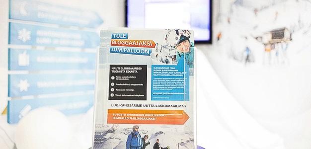 Lumipallon osastoilla voit tutustua uuteen mielenkiintoiseen blogi-konseptiin.