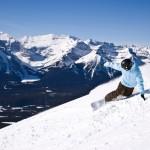 Banff Lake Louise lumilautailu hiihtokeskus laskettelukeskus