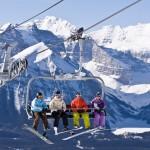Banff hiihtohissi tuolihissi laskettelukeskus hiihtokeskus