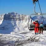 Banff hiihtokeskus laskettelukeskus tuolihissi tuolihissi