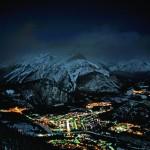 Banff hiihtokylä after ski