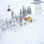 Blackcomb Whistler laskettelu