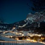 Dolomiitit Cortina hiihtokeskus alppikylä laskettelukeskus