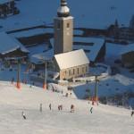 Lech Zürs hiihtokeskus rinteet laskettelu